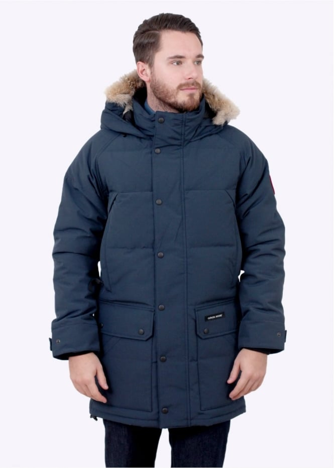 Canada Goose Emory Parka Ink Blue Triads Mens From