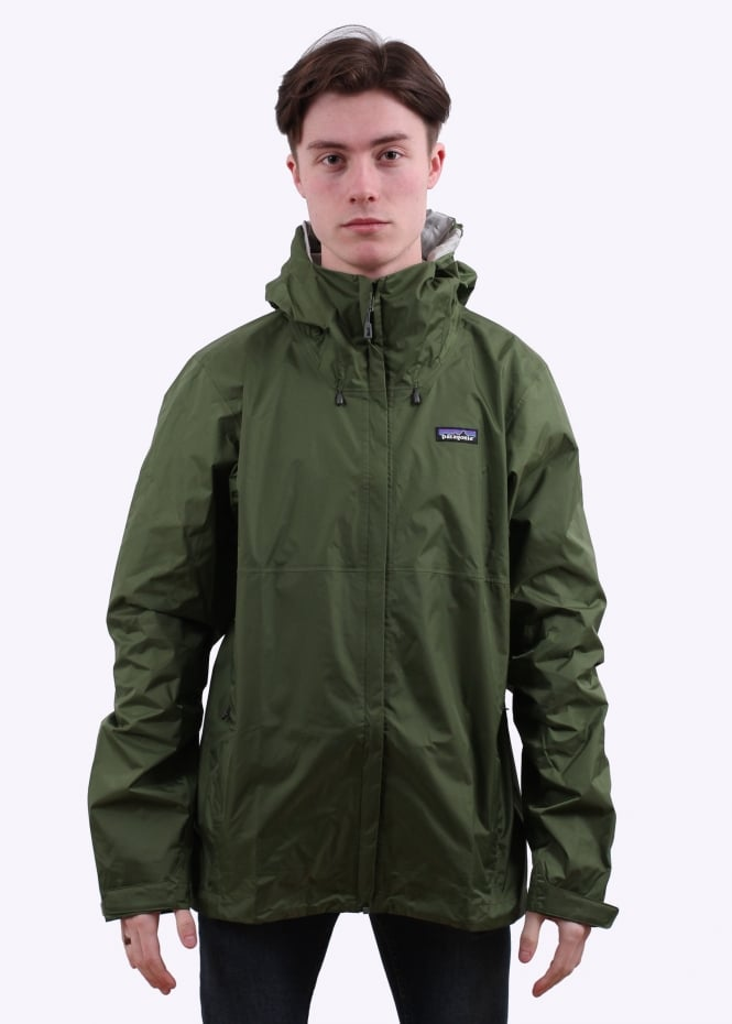 Patagonia Torrentshell Jacket Buffalo Green Jackets