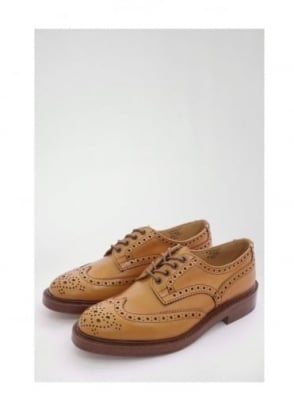 Trickers Bourton Brogue Shoe Acorn
