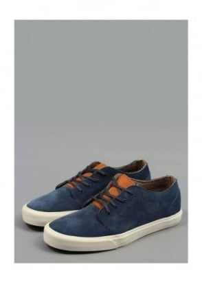 Vans California 106 Vulcanized Suede Shoes - Dress Blue
