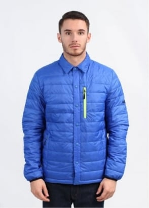 Penfield Naklin Packable Tech Down Jacket - Cobalt Blue