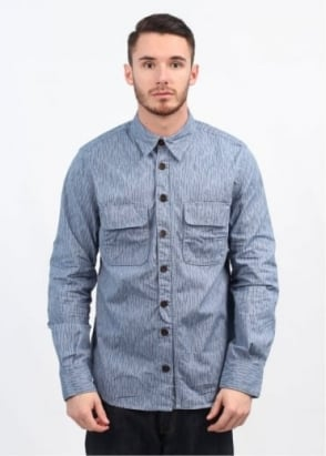 Barbour Dept. (B) Spindel Shirt - Sky Blue