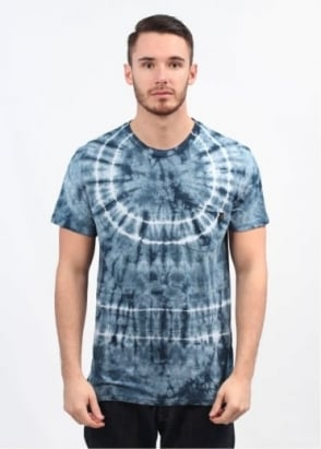 Obey Burst Pocket T-Shirt - Dark Blue