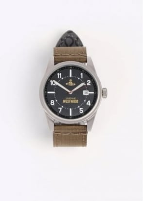 Vivienne Westwood Mens Butlers Wharf Watch - Black / Brown