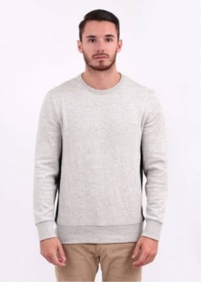 Levi's Commuter Crew Sweatshirt - Cream / Grey