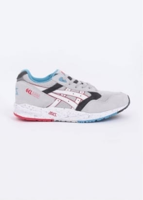 Asics Gel Saga 'Exploration' Trainers - Soft Grey / White