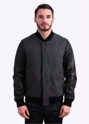Paul Smith Jeans Bomber Jacket - Grey