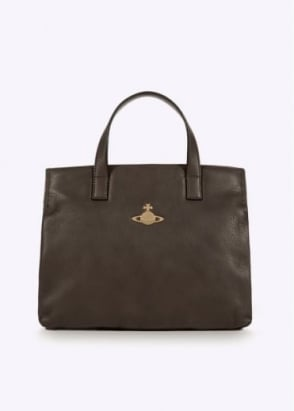 Vivienne Westwood Accessories Small Shopper Bag - Grey