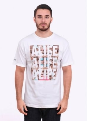 Alife Bob By Bowery Bob Tee - White