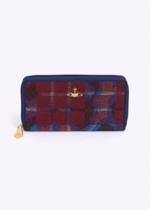 Vivienne Westwood Accessories Small Leopard Bag - Tartan