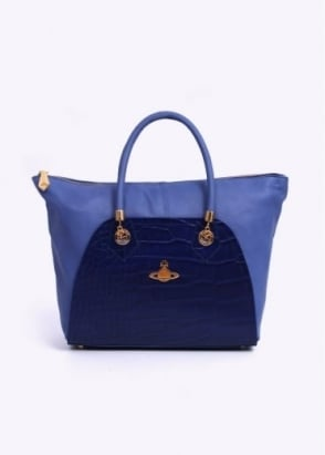 Vivienne Westwood Accessories Beaufort Leather Bag - Oceano