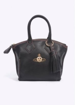 Vivienne Westwood Accessories Borsa Dolce Vita Medium Bag - Black / Pesca
