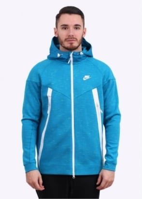 Nike Apparel Tech Bonded Windrunner Jacket - Blue