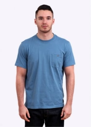 Paul Smith Jeans Pocket T-Shirt - Heather Blue