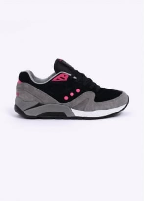 Saucony G9 Control Neon Nights Trainers - Black / Grey