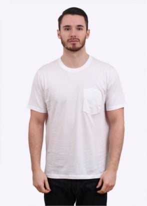 Carhartt Short Sleeve Duncan Pocket Tee - White