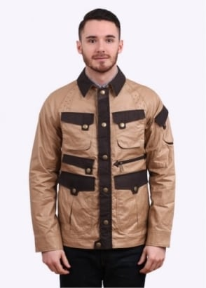 Barbour x White Mountaineering Raglan Sleeve Jacket - Bark