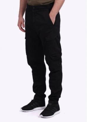 Stone Island Shadow Project Gabardine Comfort Cargo Pants - Black
