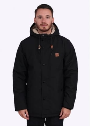 Obey Hillman Jacket - Black