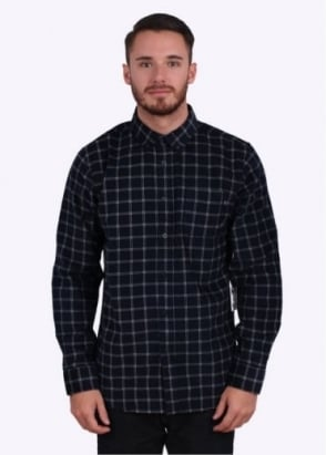 Obey Halen Woven Shirt - Midnight