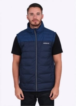 Adidas Originals Apparel Praez Synt Vest - Navy Blue