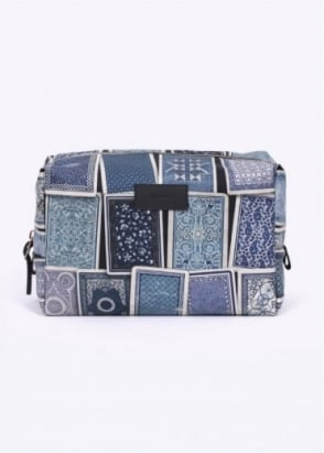 Paul Smith Games Print Wash Bag - Blue
