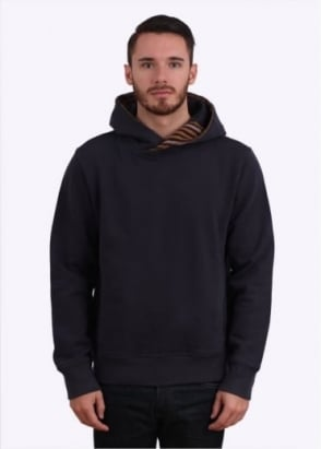 Paul Smith Hooded Detail Sweater - Navy Blue