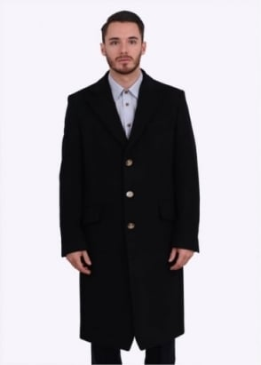 Vivienne Westwood Long Formal Coat - Black