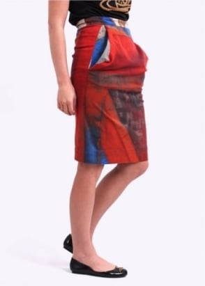 Vivienne Westwood Anglomania Alcoholic Skirt - Multi Coloured