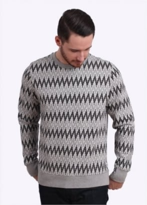 Paul Smith Pattern Sweater - Grey