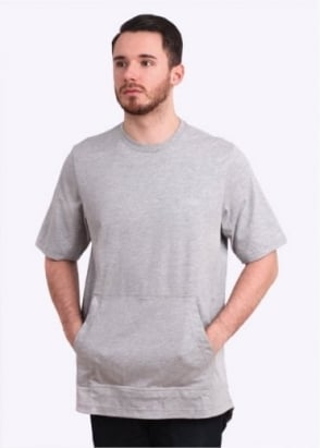 Adidas Originals Apparel Oversized PCK Tee - Grey