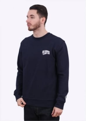 Billionaire Boys Club Arch Logo Crewneck Sweatshirt - Navy