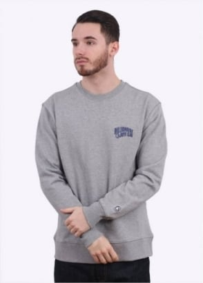 Billionaire Boys Club Arch Logo Crew Neck Sweatshirt - Heather Grey