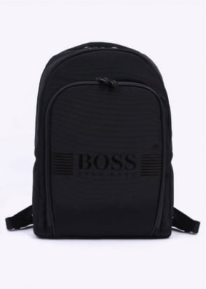Hugo Boss Accessories Pixel Backpack - Black