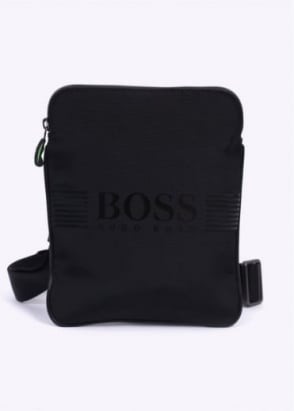 Hugo Boss Accessories Pixel S Zip Bag - Black