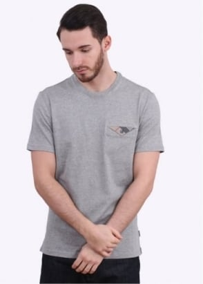 Barbour Walshaw Tee - Grey