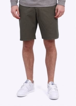 Norse Projects Aros Slim Shorts - Dark Olive