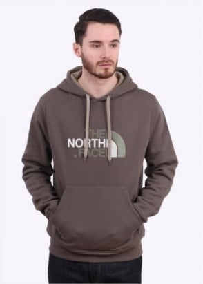 The North Face Drew Peak PLV Hoodie - Weimarane Brown