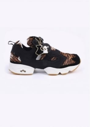Reebok x The Jungle Book 'Shere Khan' Instapump Fury Trainers - Black / Tiger