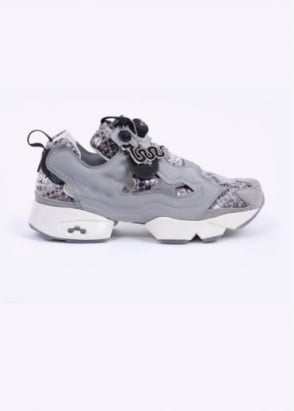 Reebok x The Jungle Book 'Kaa' Instapump Fury Trainers - Grey / Snake
