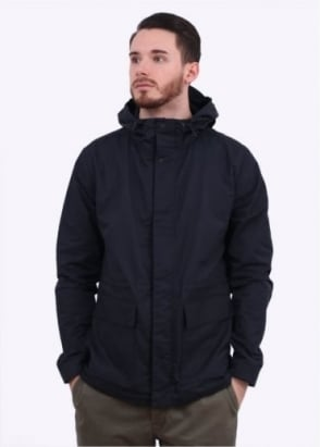 Norse Projects Nunk Summer Cotton Jacket - Navy