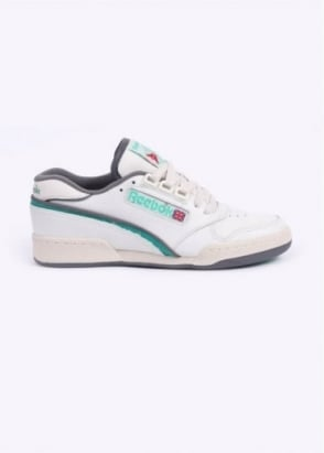 Reebok Act 600 85 Trainers - Chalk / PaperWhite / Teal / Shark