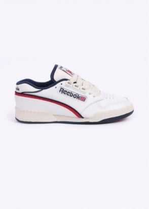 Reebok Act 600 85 Trainers - Chalk / PaperWhite / Excellent Red / Navy