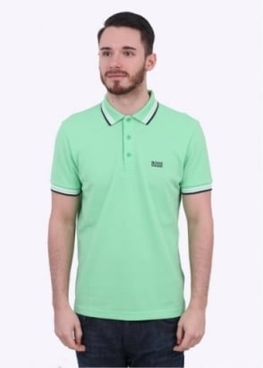 Hugo Boss Green Paddy Polo - Open Green
