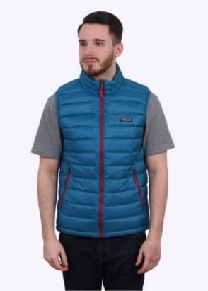 Patagonia Down Sweater Vest - Underwater Blue