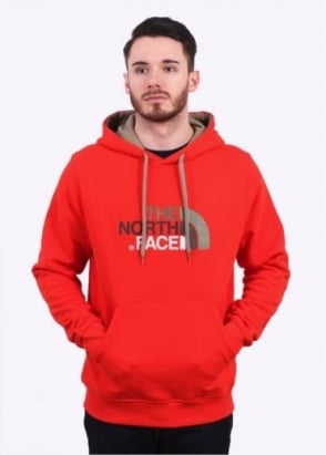 The North Face Drew Peak PLV Hoody - Fiery Red