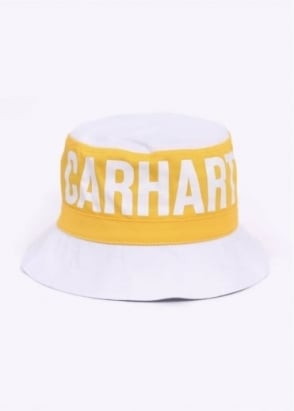 Carhartt Shore Bucket Hat - White / Colorado