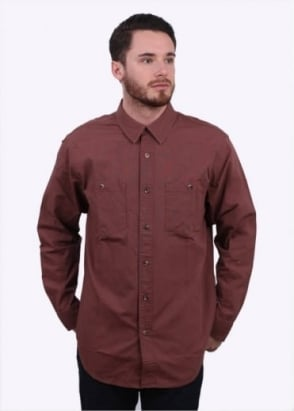 Filson Buckhorn Field Shirt - Red Clay