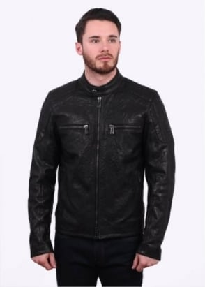 Belstaff Archer Blouson Patch Jacket - Black