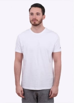 Champion Reverse Weave Classic SS Tee - White